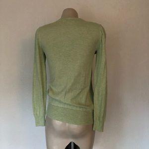 J. Crew Tops - Light Green J.Crew Vneck sweater